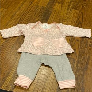 Adorable Laura Ashley baby girl outfit